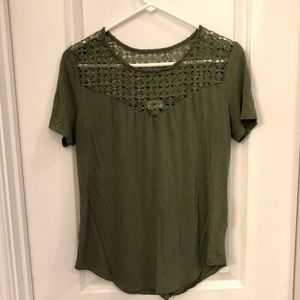 Old navy green top.